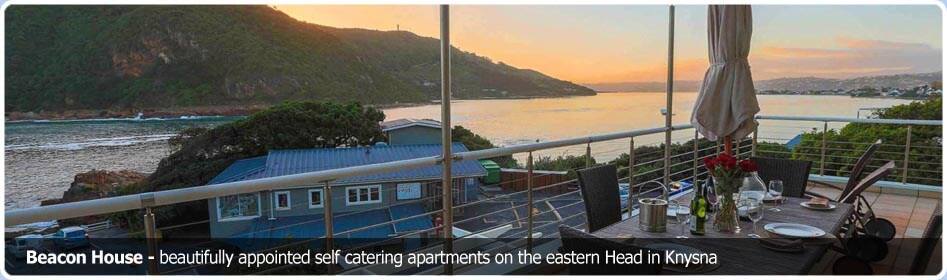 Beacon House luxury apartments in Knysna