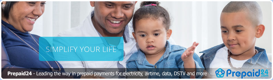 Prepaid 24 purchase electricity & airtime online